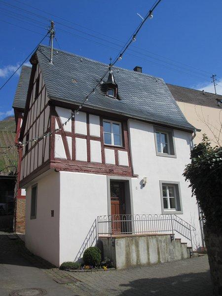 Fachwerk mit modernem Komfort, vacation rental in Ellenz-Poltersdorf