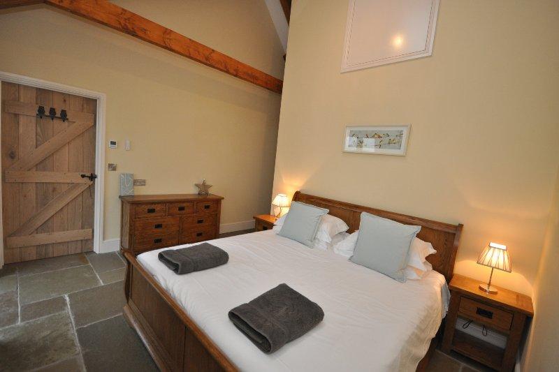 Dormitorio con Super King Bed & smart TV