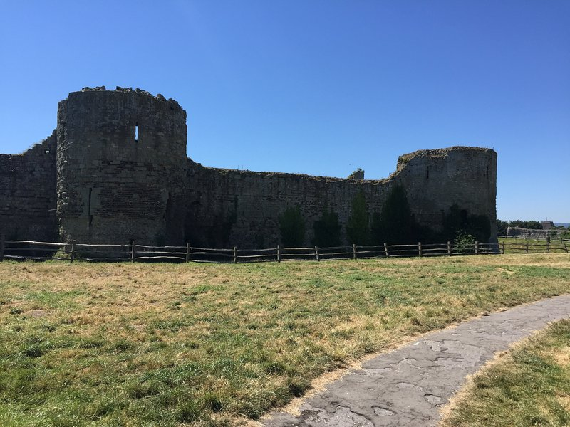 Pevensey Castle is a must for both young and old visitors