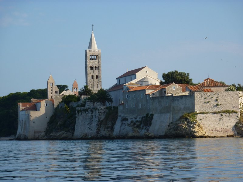 The old town of Rab