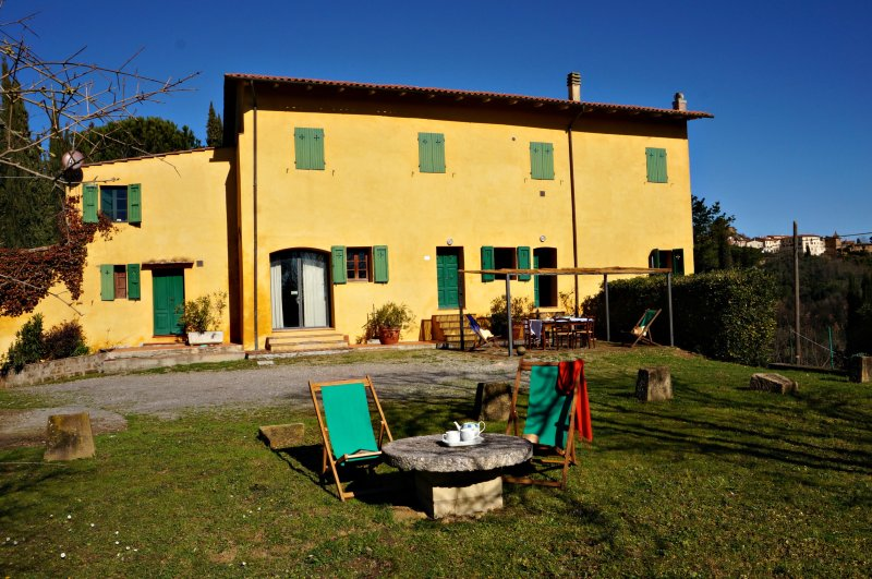 Casa Giovanna an Authentic Tuscan farmhouse in rural Tuscany