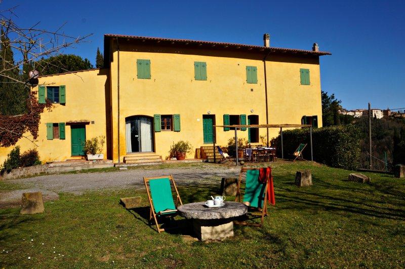 Casa Giovanna an Authentic Tuscan farmhouse in rural Tuscany