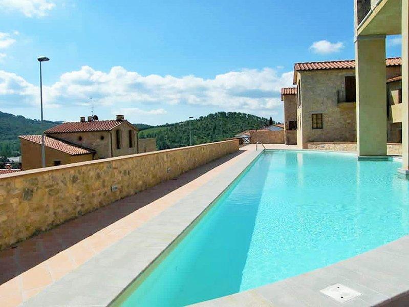 Der Haupt Schwimmbad in Borgo di Gaiole