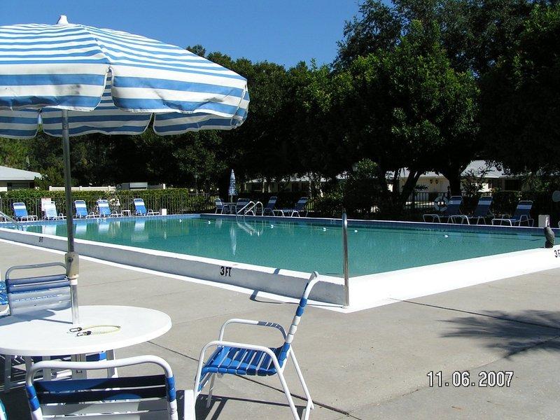 Condo community pool
