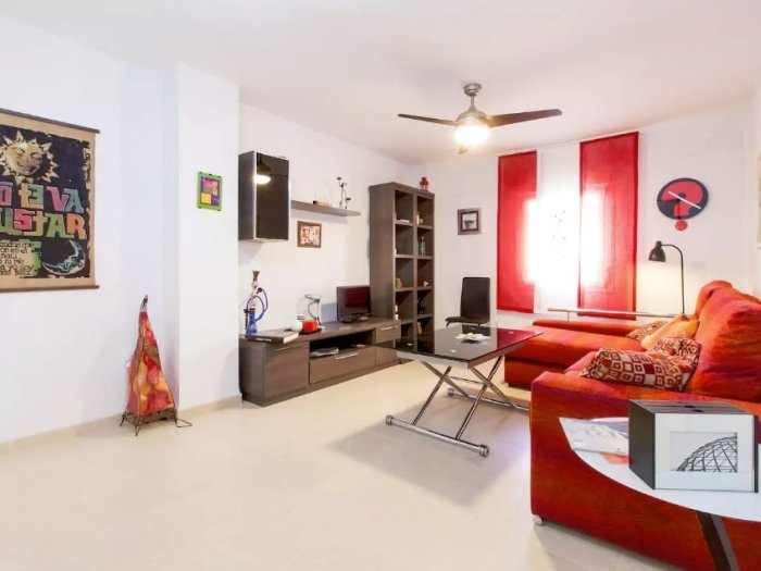 [663] Spacious 3 bedroom apartment, located at Triana, holiday rental in Burguillos