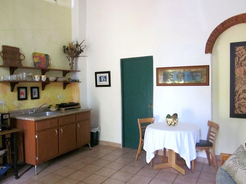 Living/kitchen/ dining area