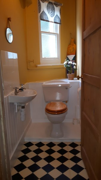 One of two toilets
