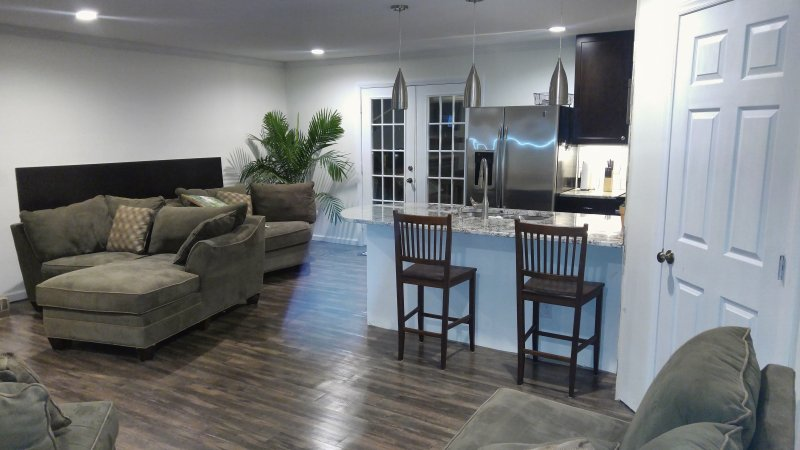 Beautiful open floor plan for relaxing or entertainment