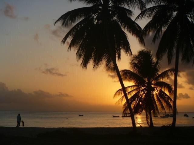 Sin embargo, otra impresionante puesta de sol en la costa oeste!