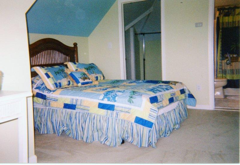 4 dormitorios en nivel 3 con cama de matrimonio