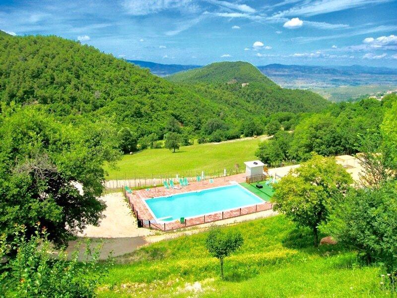Hervorragende Landschaft umgibt sofort die Villa