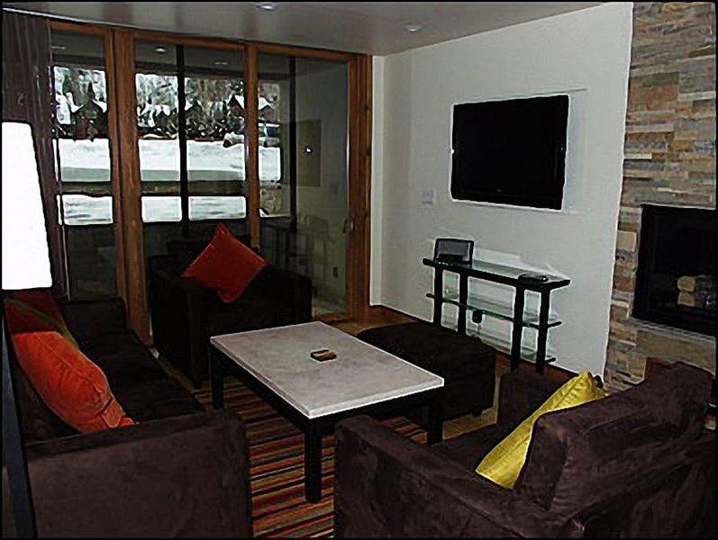 Living Room with flatscreen TV