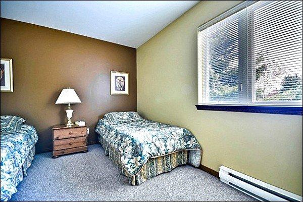 La seconda camera dispone di due letti singoli