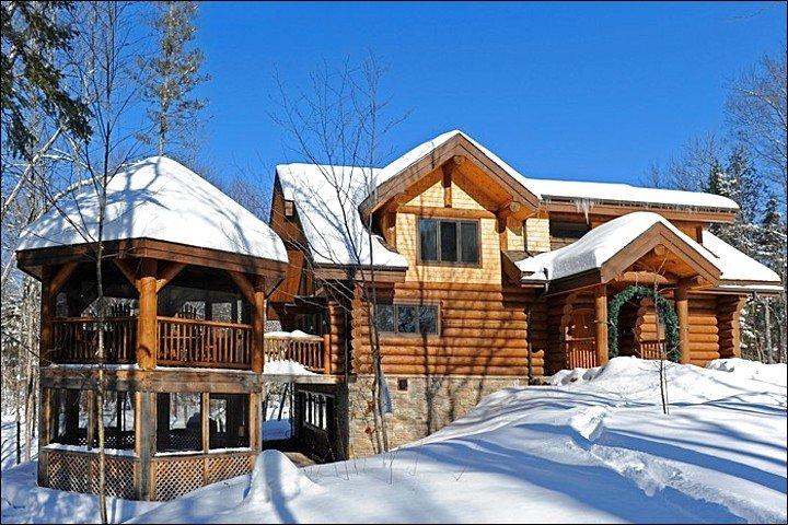 Home Exterior Winter View