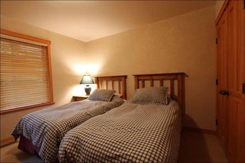 La terza camera è simile alla camera da letto due con il re di Spalato o due letti singoli Opzione