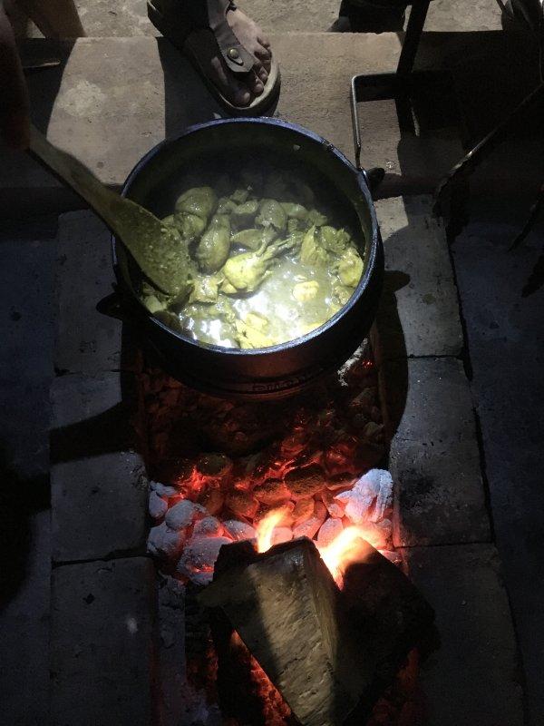 Potjie tradicional africana