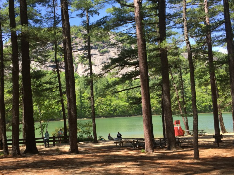 Short walk to Echo Lake.