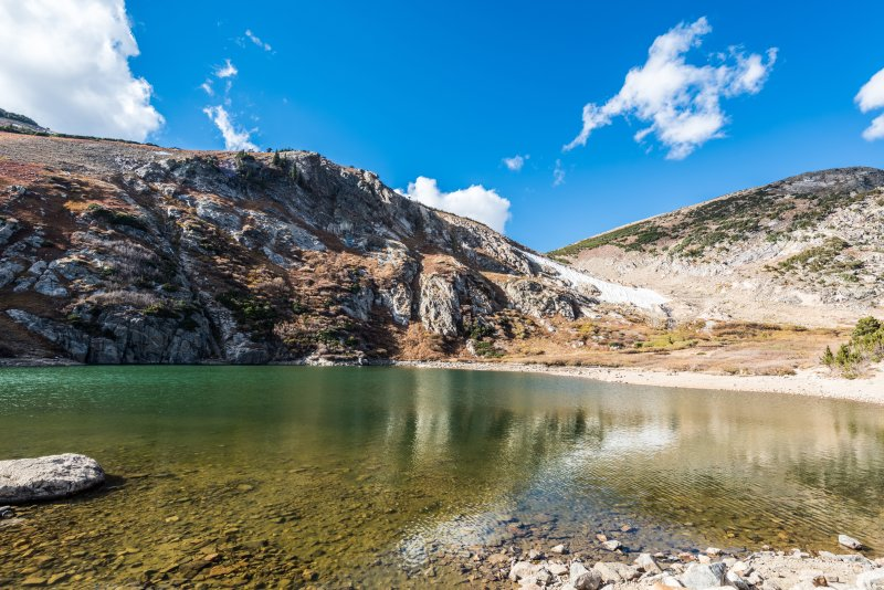 Take a trip over to St. Mary's Glacier, only 5 miles down the road.