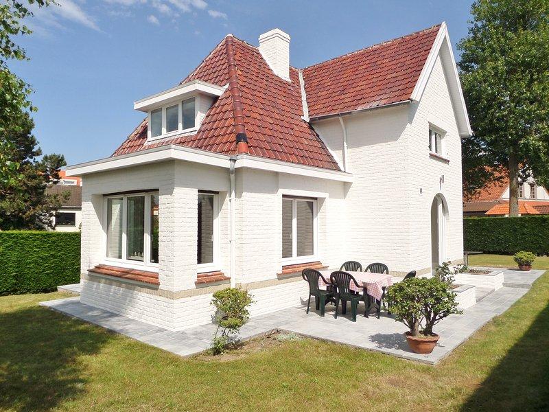 Villa Grillons, votre maison de vacances à la côte belge (300m des plages), aluguéis de temporada em Koksijde