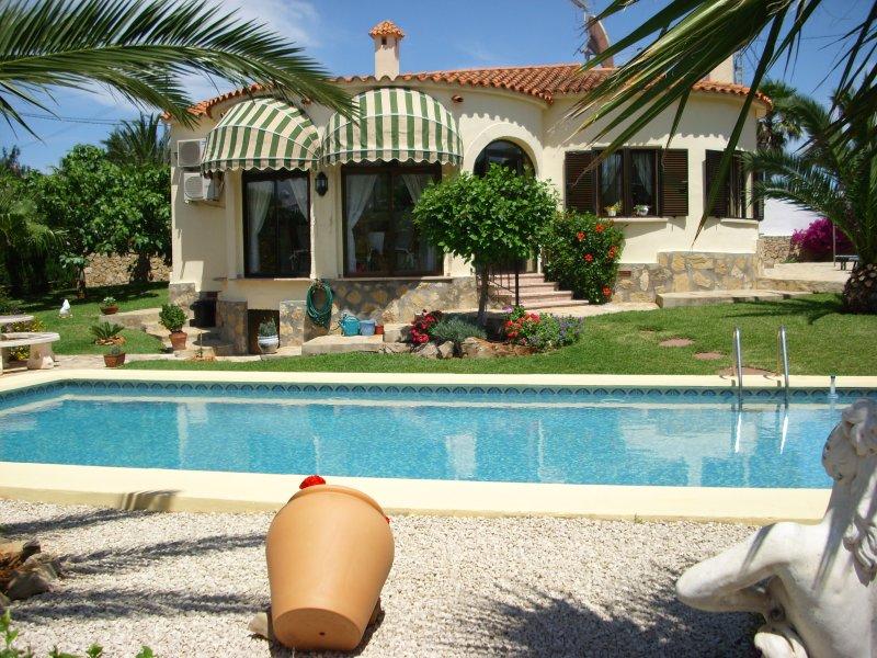 Villa Brigitte, alquiler vacacional en Denia