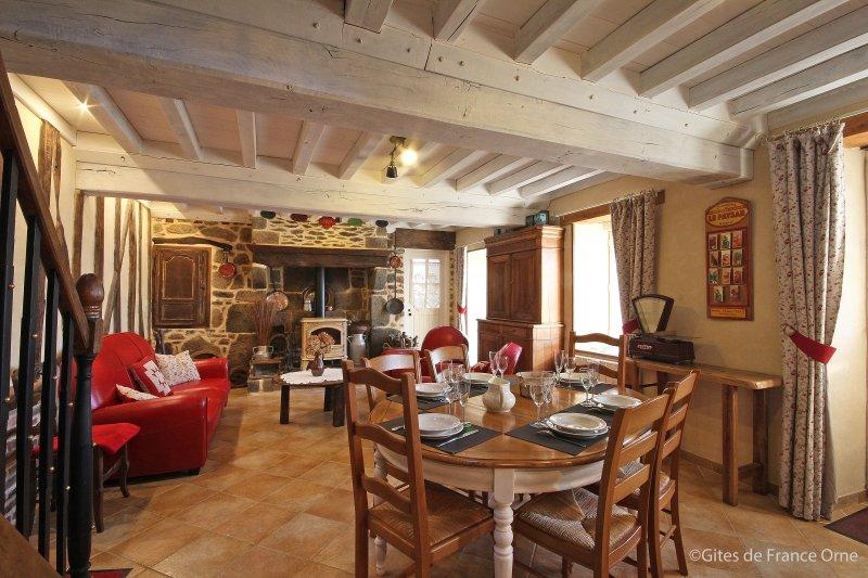 Gite Hamelis, location de vacances à Putanges-Pont-Ecrepin