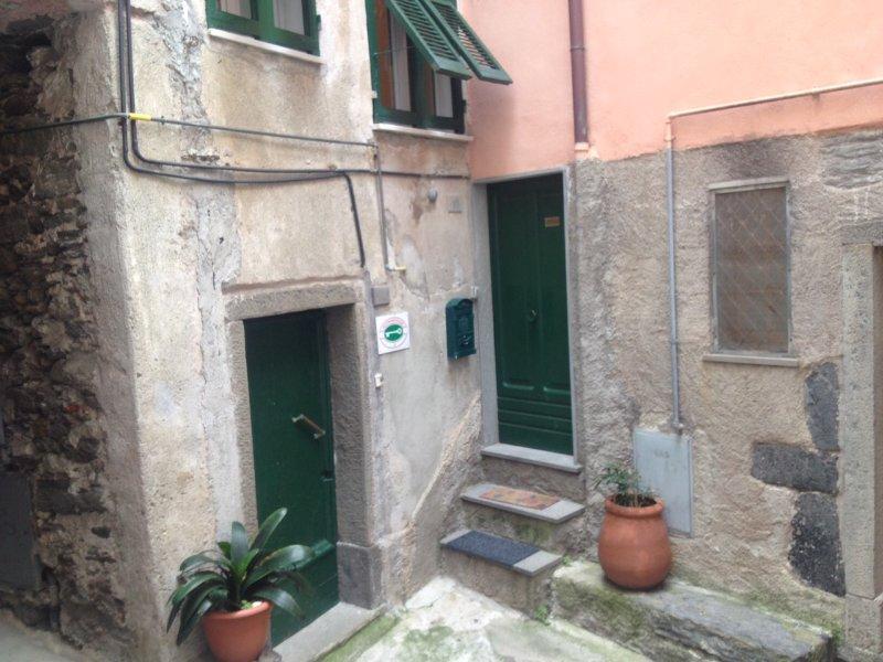 Porta de entrada Casa Colomba Vernazza