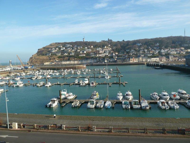 La Goélette : joli duplex vue port et mer