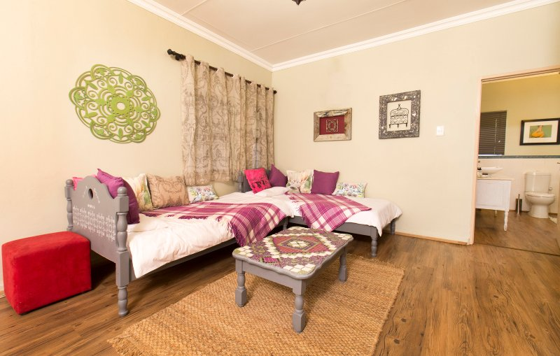 Main bedroom seating area.
