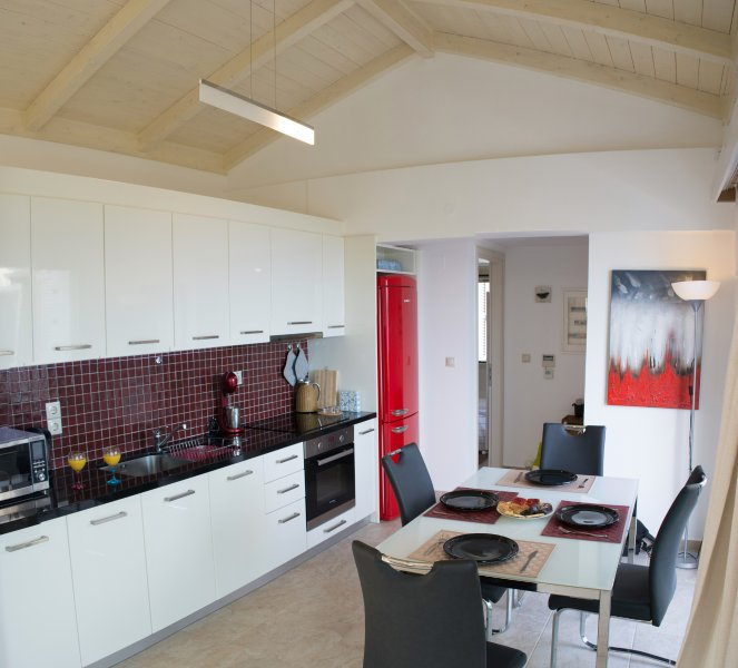 dining & kitchen - upper level