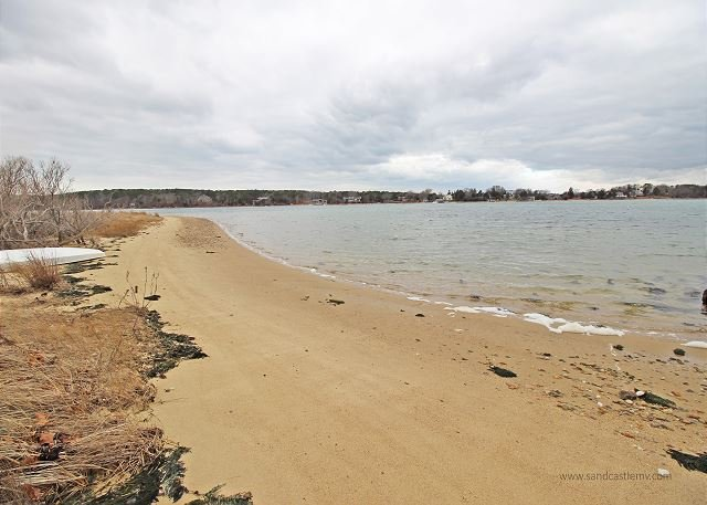 Lagoon Beach a walk from the house