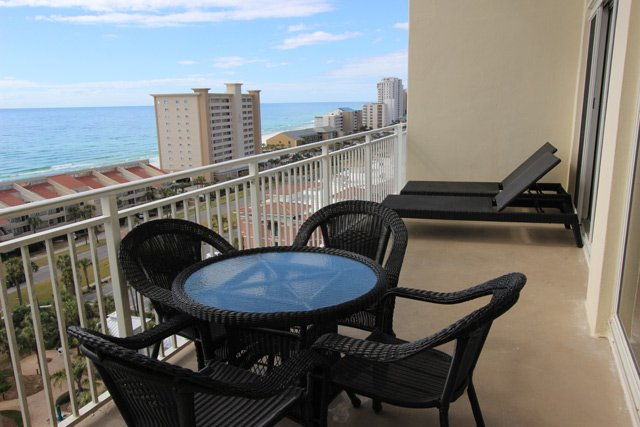 Spacious Balcony with New Furniture