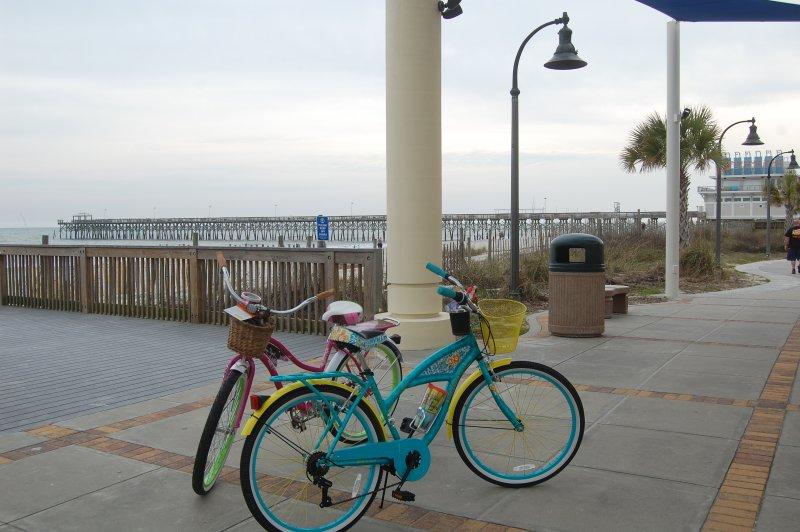 Biciclette a disposizione con il condominio