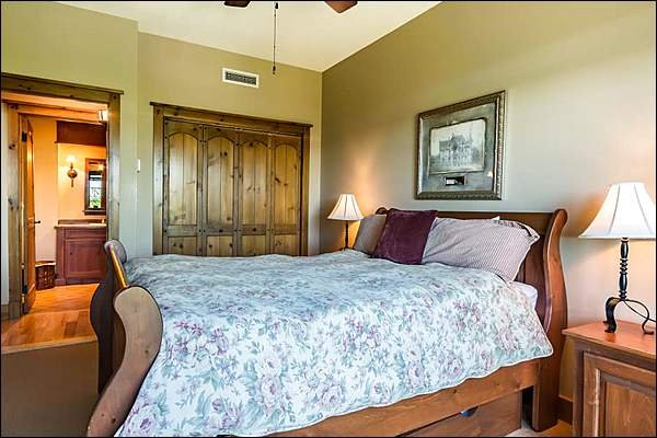 Comfy Master Bedroom with King Bed