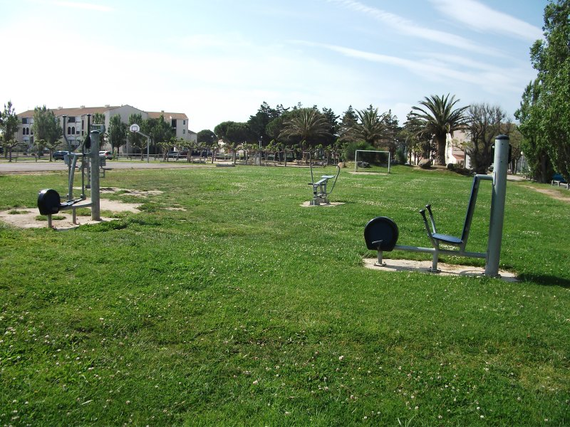 Access to the outdoor fitness at will