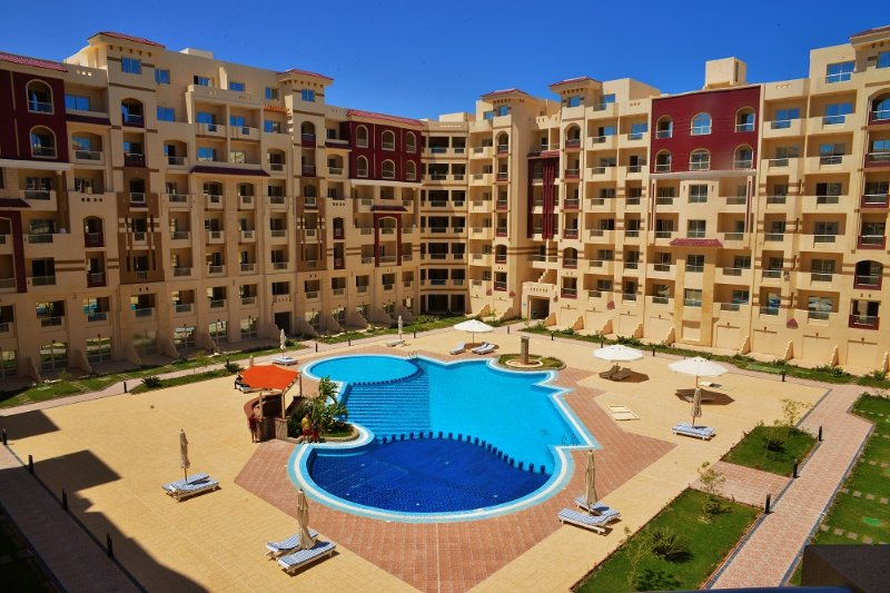 One-bedroom apartment with pool view I, vacation rental in Hurghada