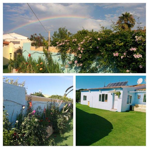 front garden and Casa Solar Albir