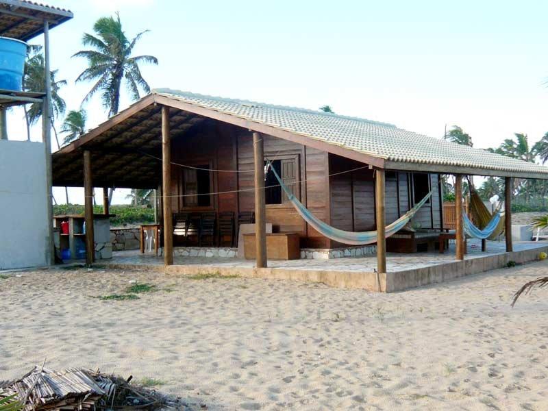 cabaña a orilla del mar antistress, holiday rental in Imbassai