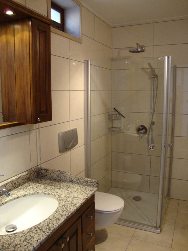 Lagere huis badkamer