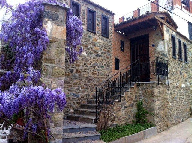 Ingang van Stone House