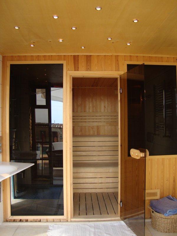 Sauna en natte ruimte