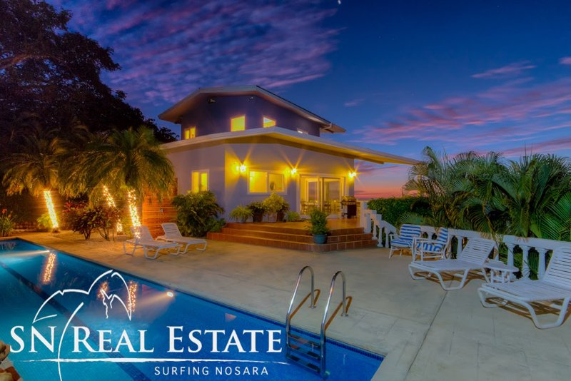 Private, Hilltop Villa With Expansive Ocean Views, vacation rental in Playa Pelada