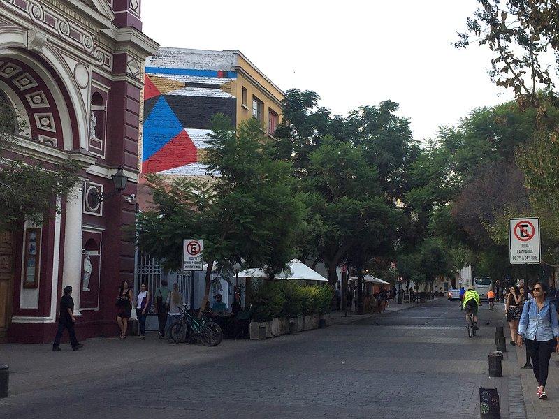 Street View Lastarria