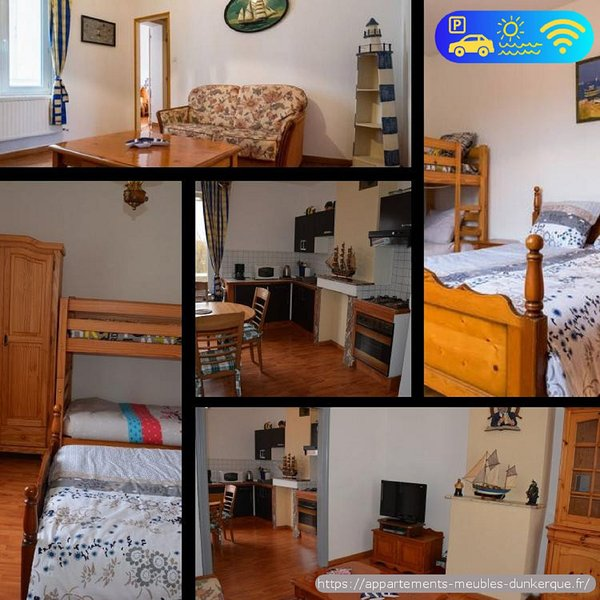 Appartement 65 m2 bord de plage Dunkerque , Malo Les Bains, holiday rental in Gravelines