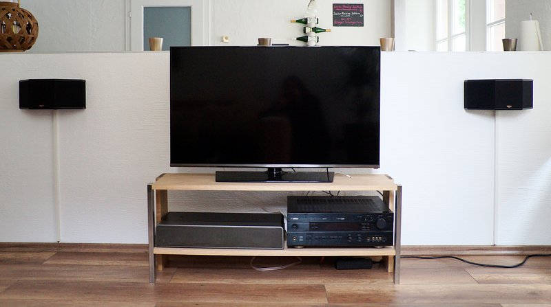 TV with stereo