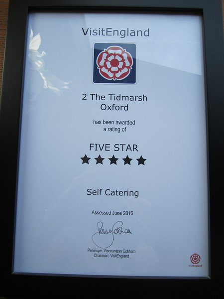 One to five stars awarded for the quality and range of facilities and services offered.
