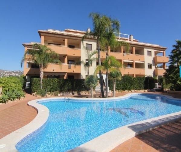 South facing apartment with fabulous communal pool including children's pool