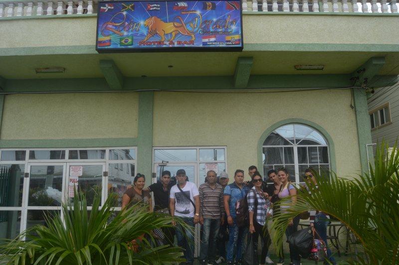 Enkele van onze Cubaanse Guest
