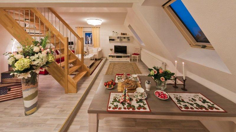 Eine sympatische Wohnung auf der schwäbischen Alb, location de vacances à Hechingen