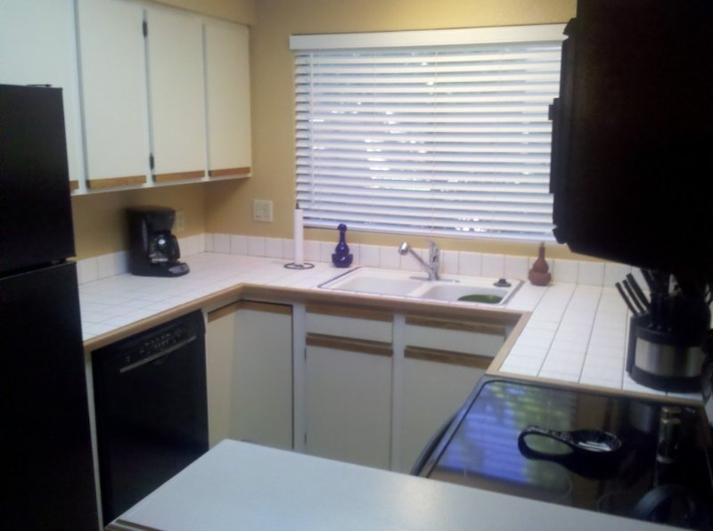 Kitchen with all new appliances downstairs.