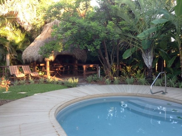 Pool and Tiki